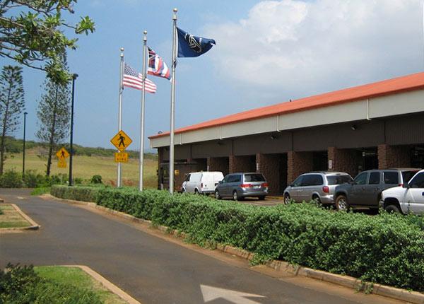 Car rentals at the Molokai airport